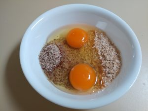 Bran Pancakes - add egg to the LSA and Wheat Bran
