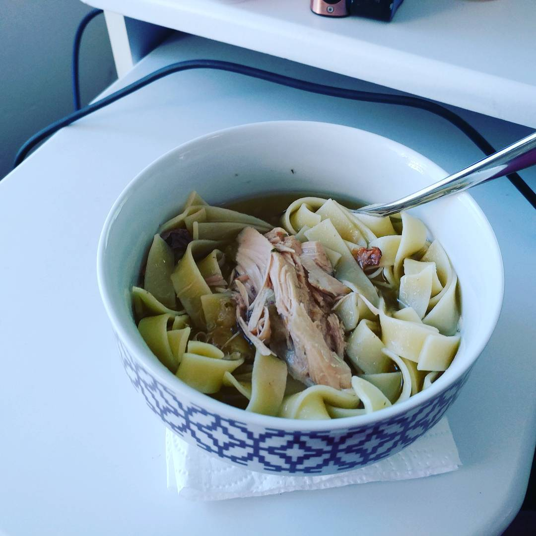 10May17 I spent the day making turkey soup stock forhellip