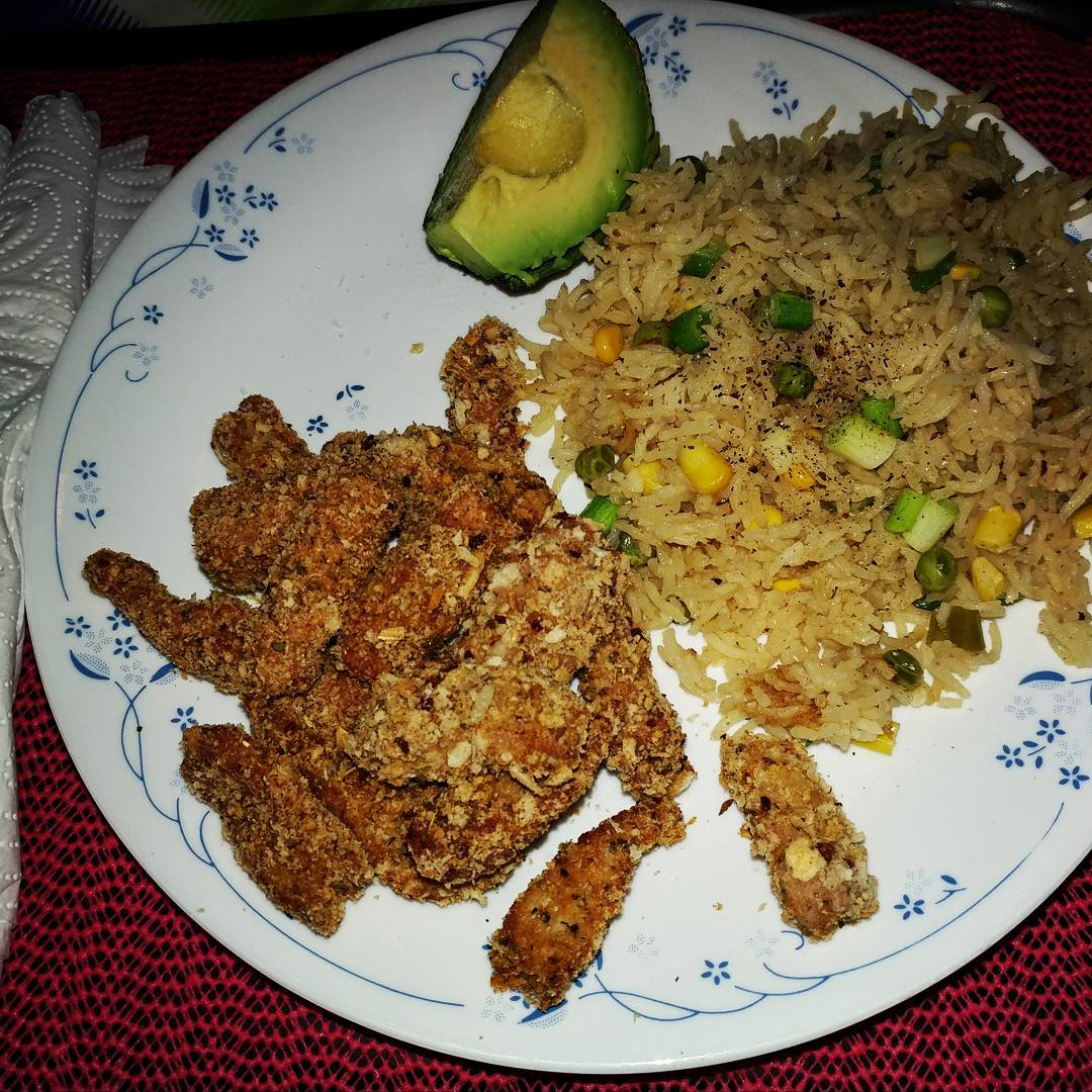 17May17 Faux Fried Mexican Pork with Dirty Rice I didnthellip