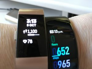 Fitbit Charge2 and Gear Fit2