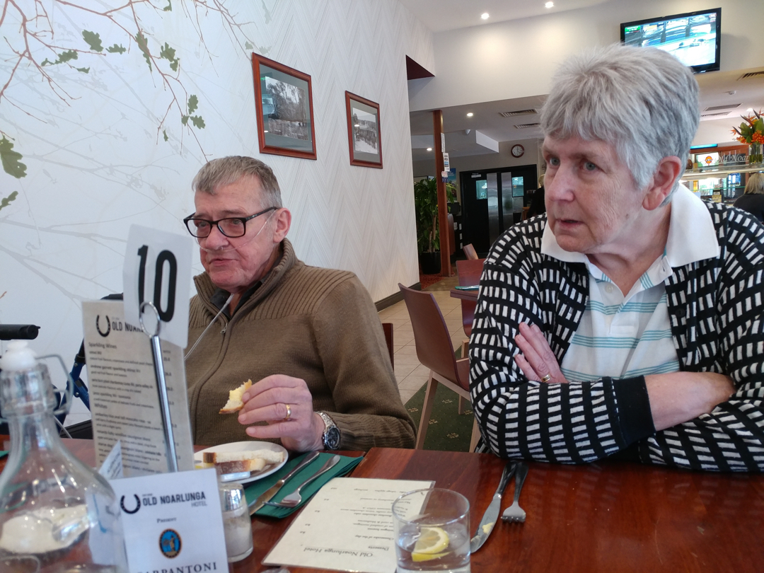 04Nov17 Lunch with Erik and Anne at Old Noarlunga Hotelhellip