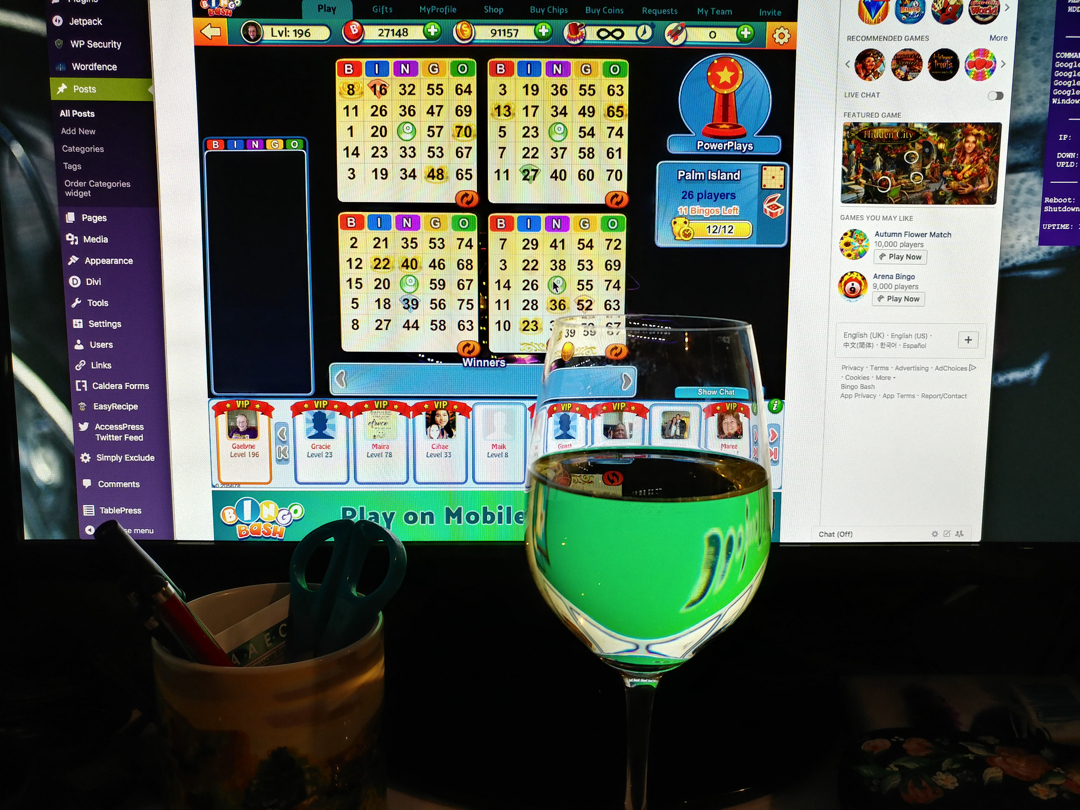12Nov17 Bingo and Wine What better way to enjoy ahellip