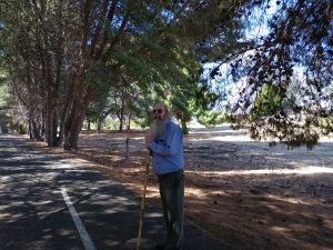 Rod, taking a walk with me on Sunday, 25 March 2018